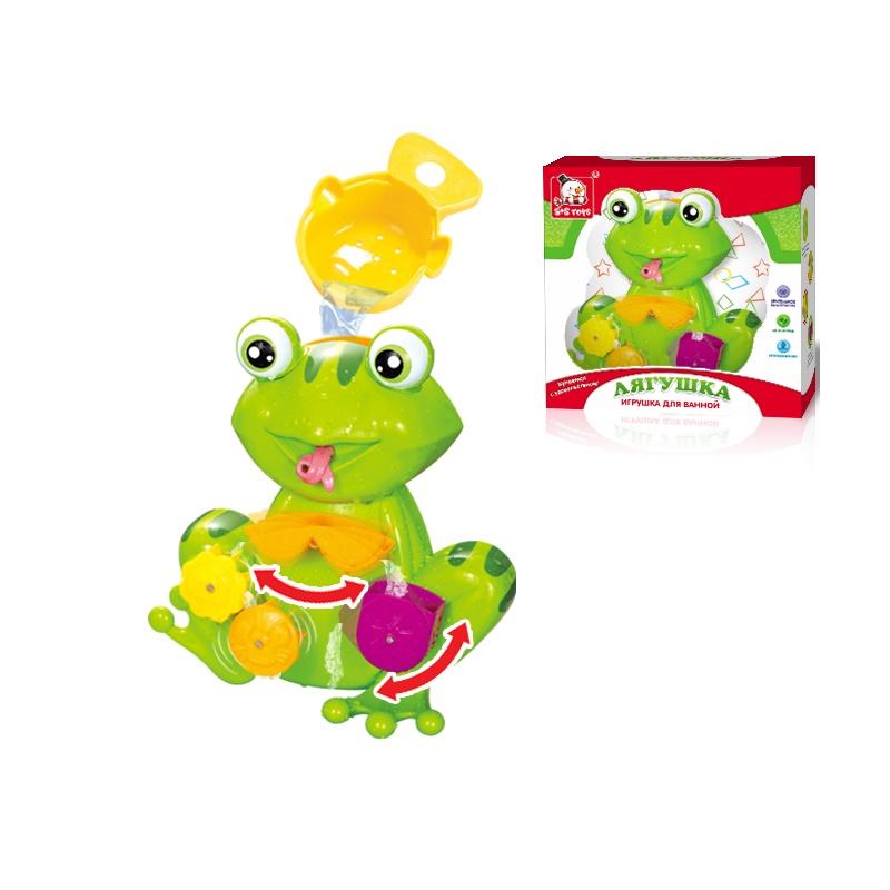 Игрушка для ванной S+S TOYS Мельница Лягушка 100611469 игрушка для ванны s s toys книжка перчатка для купания