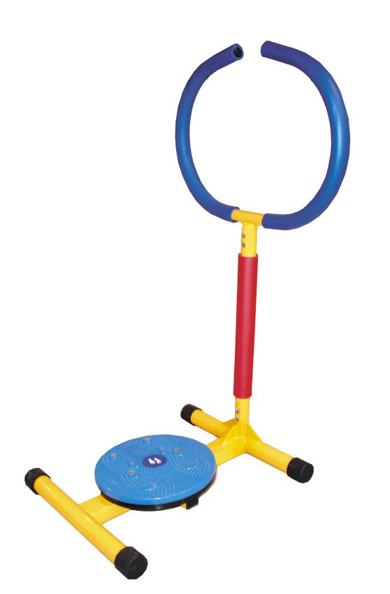 Мини-тренажер Leermei LEM-KTD 001, красный, синий, желтый тренажер детский baby gym мини твист