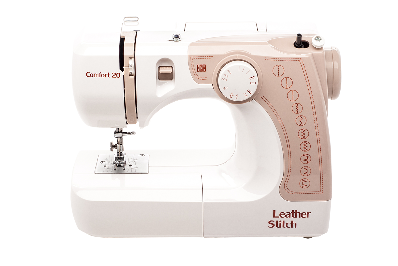 Швейная машина Comfort 20, белый, бежевый швейная машина tesler sm 1210