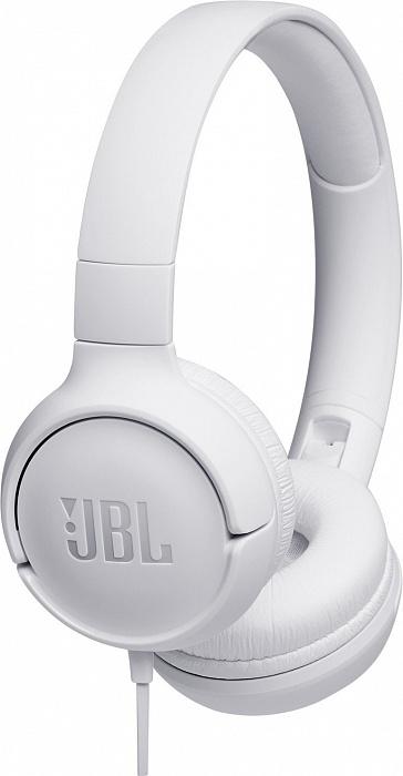 Наушники JBL Tune 500, белый цена и фото
