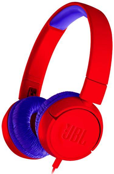 Наушники JBL JR300, красный наушники с микрофоном jbl jr300 накладные blue