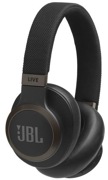 Беспроводные наушники JBL LIVE 650 BT, черный колонки jbl bar 2 0 черный 30вт беспроводные bt