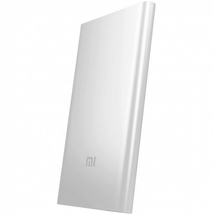 Внешний аккумулятор Xiaomi Power Bank, серебристый аккумулятор внешний xiaomi mi power bank 2 20000mah
