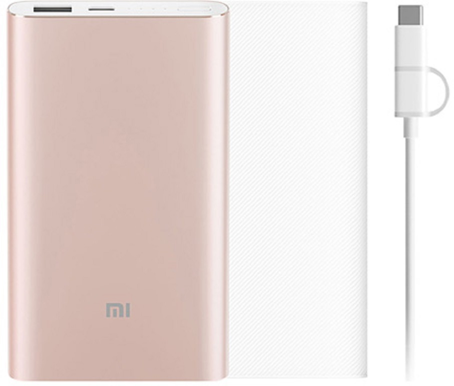 Внешний аккумулятор Xiaomi Power Bank Pro, золотой achieve ielts 2 english for international education cd rom