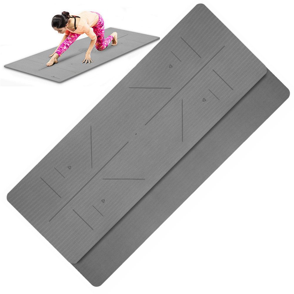 Коврик для йоги и фитнеса Hawk 10017486 коврик для йоги и фитнеса profi fit 6 мм стандарт серый