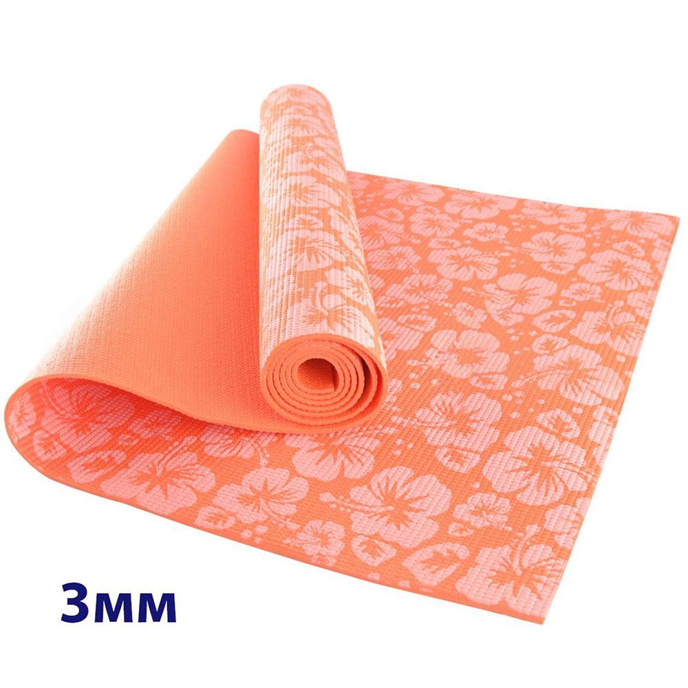 Коврик для йоги и фитнеса Hawk 10012386 коврик для йоги и фитнеса indigo фиолетовый с рисунком 173 х 61 х 0 6 см