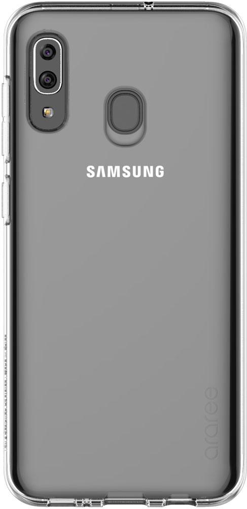 Чехол для сотового телефона Samsung Galaxy A20, прозрачный
