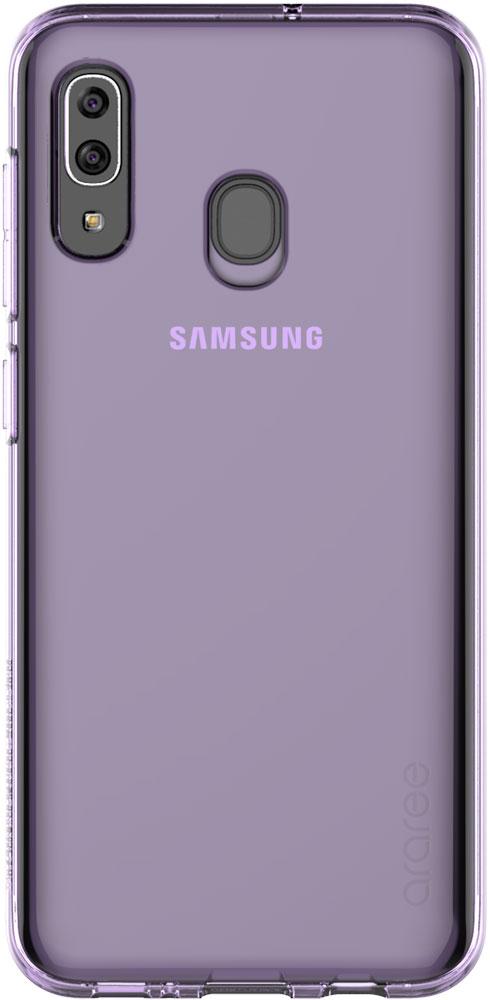 Чехол для сотового телефона Samsung Galaxy A20, фиолетовый