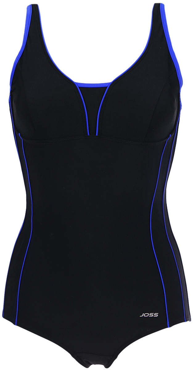Купальник слитный Joss Women's swimsuit colorblock mixed print swimsuit