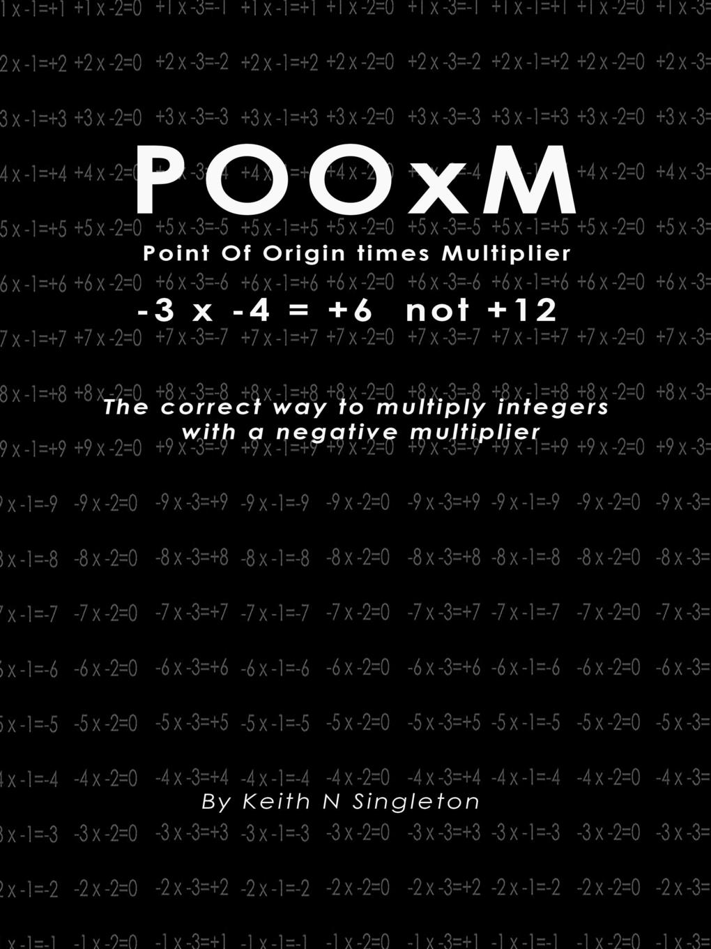 Keith Singleton POOxM ( Point Of Origin times Multiplier) -3 x -4 . .6 not .12 jd mcpherson jd mcpherson let the good times roll