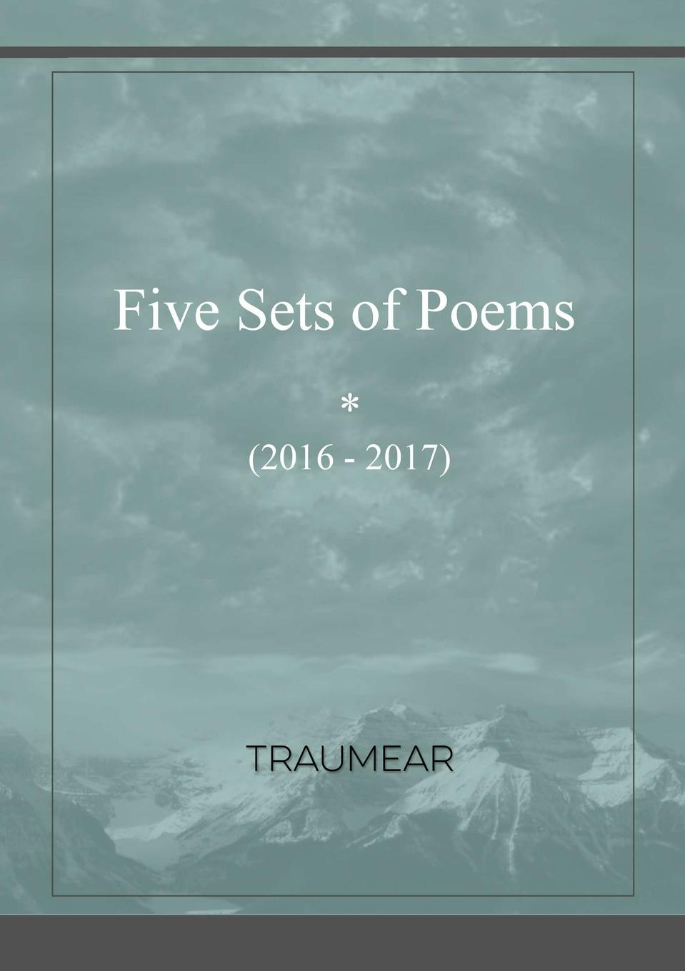 Traumear Five Sets of Poems ms moem modern wedding poems