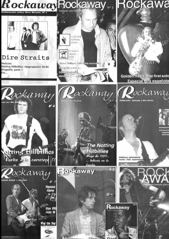 Fanzine Rockaway Fanzine Rockaway - Publicacion sobre Dire Straits dkny rockaway ny2660