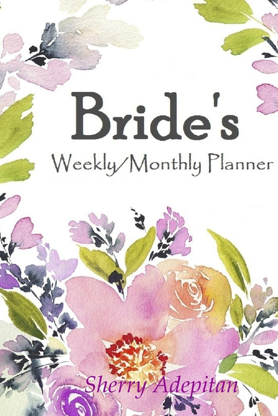 Sherry Adepitan Brides. Weekly/Monthly Planner week planner wall decal