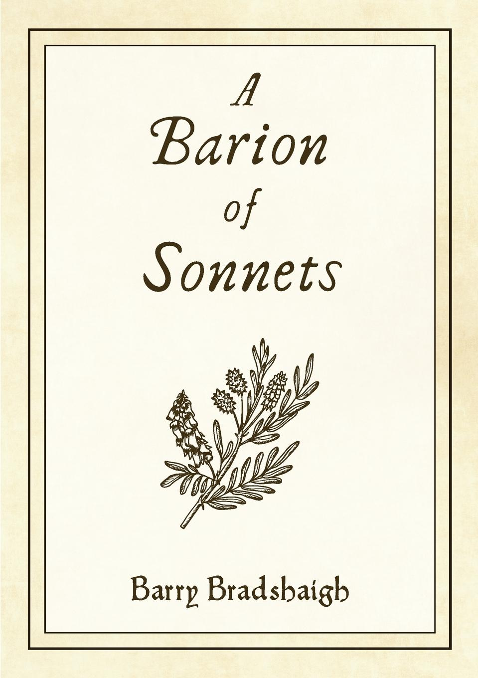 Barry Bradshaigh A Barion Of Sonnets a collection of astronomy articles by frank schlesinger