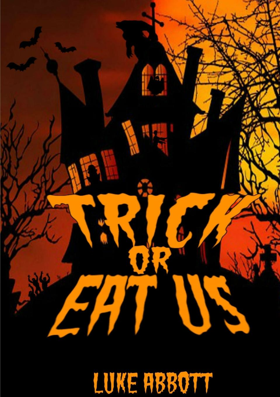 Luke Abbott Trick Or Eat Us gothic art vampires witches demons dragons werewolves