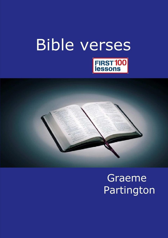 Graeme Partington Bible Verses. First 100 Lessons robert e van voorst commonly misunderstood verses of the bible