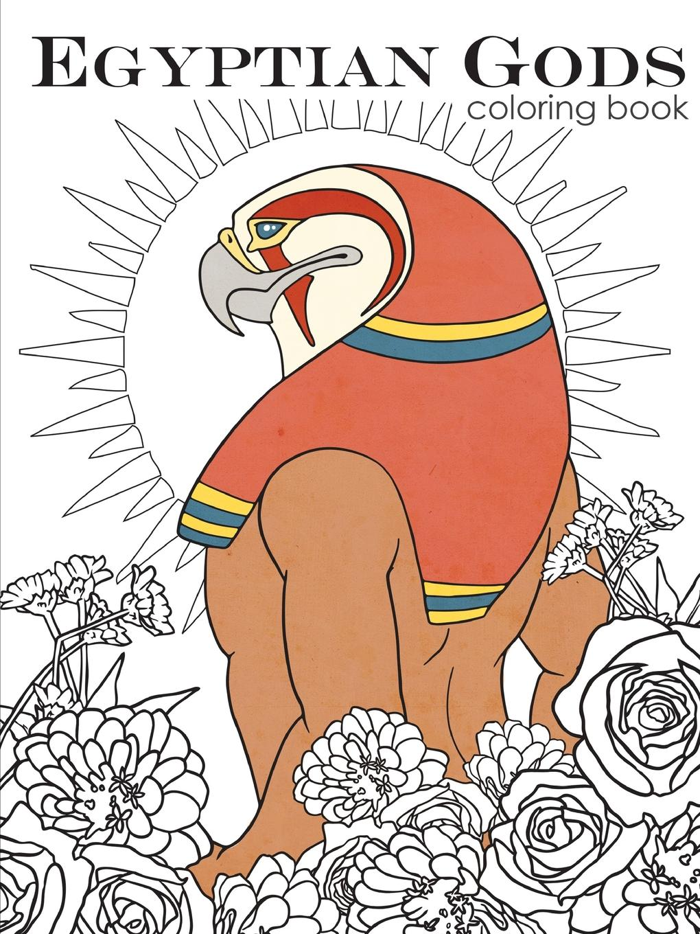 Megan Zane Egyptian Gods. Coloring Book