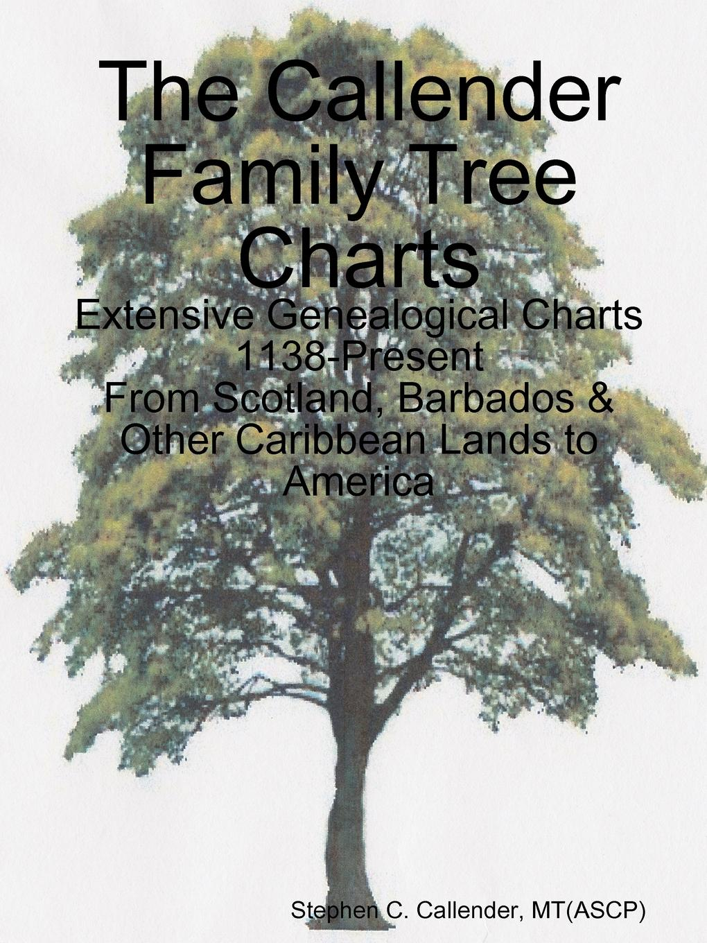 Stephen Callender The Callender Family Tree Charts barbara delinsky the family tree