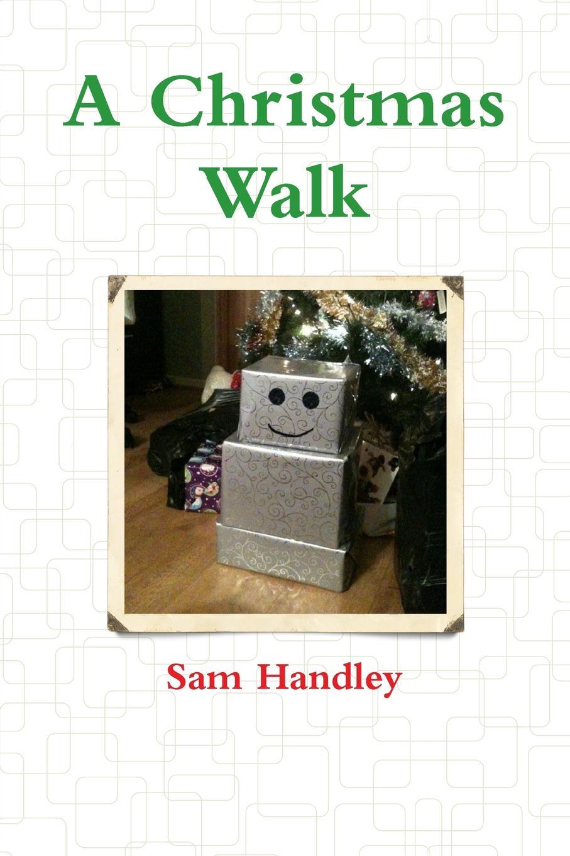 Sam Handley A Christmas Walk майка print bar cat on a christmas tree