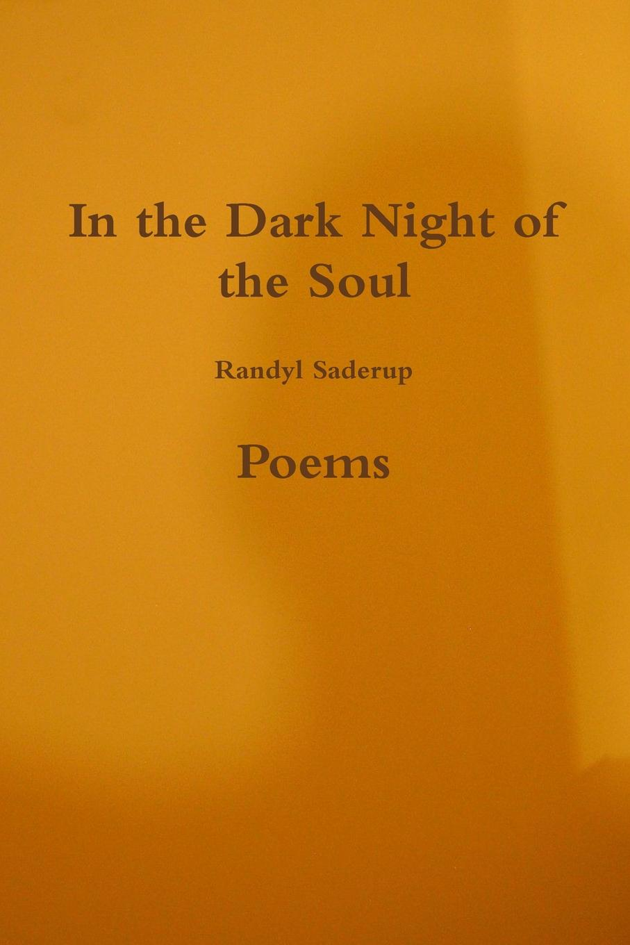 Randyl Saderup In The Dark Night of the Soul недорого