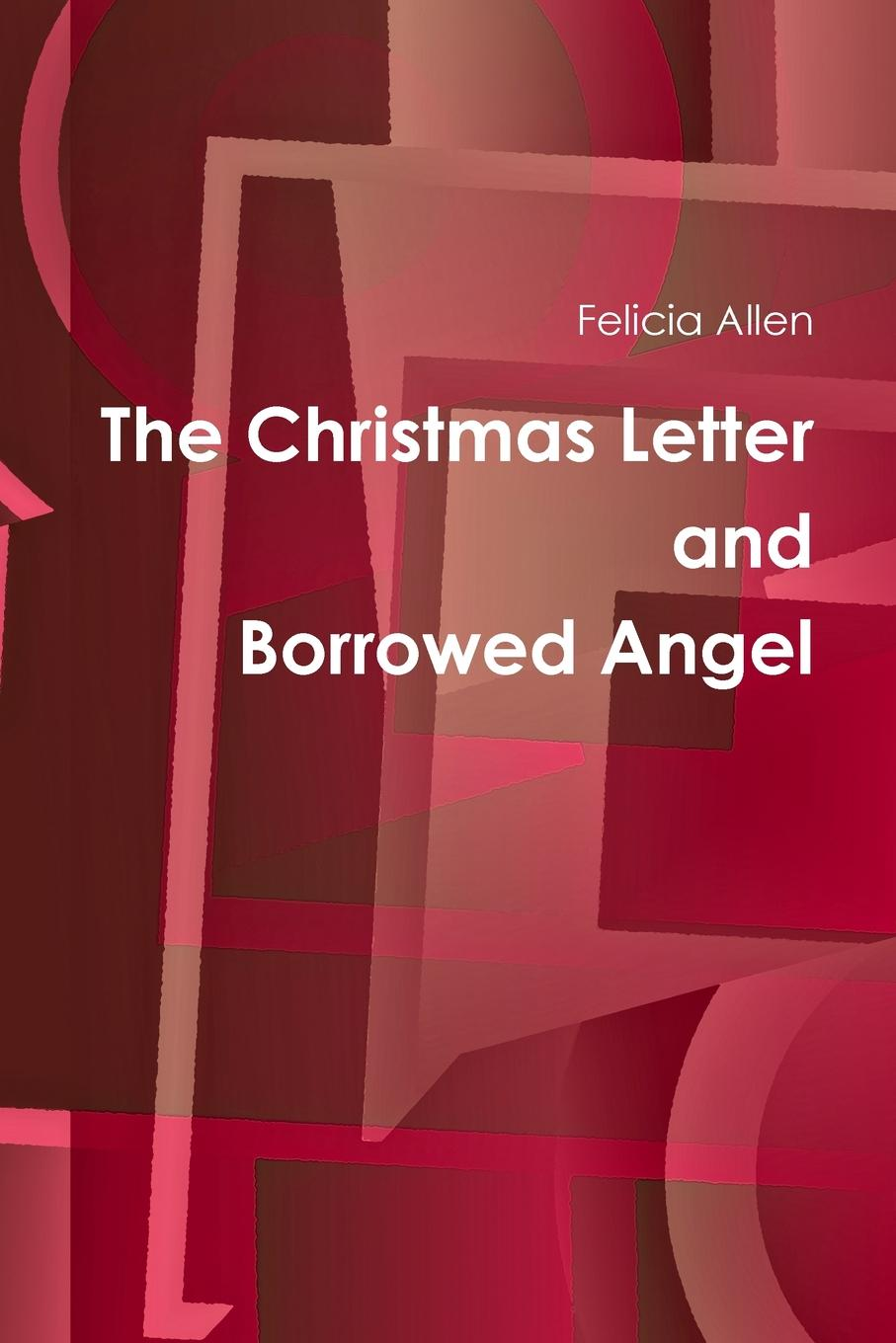 Felicia Allen The Christmas Letter and Borrowed Angel alloy sequins santa christmas brooch