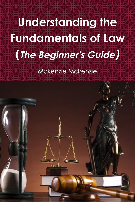 Mckenzie Mckenzie Understanding the Fundamentals of Law (The Beginner.s Guide) p mckenzie armstrong additudes
