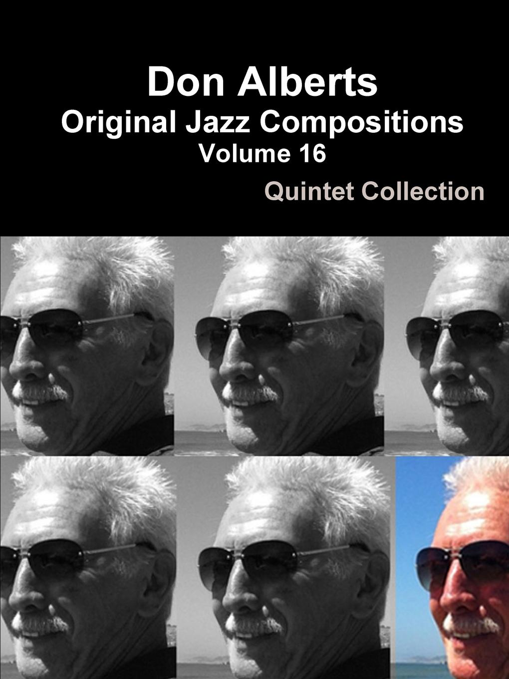 Don Alberts Don Alberts Original Jazz Compositions Volume 16 slw 866 dark red mini finger touch jazz drums music game set red silver 3 x aaa