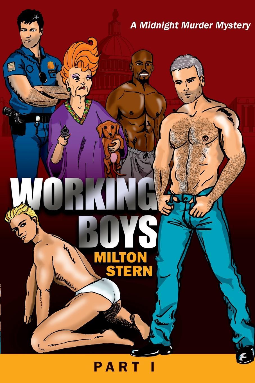 Milton Stern Working Boys, A Midnight Murder Mystery, Part I boys cartoon dog print tee