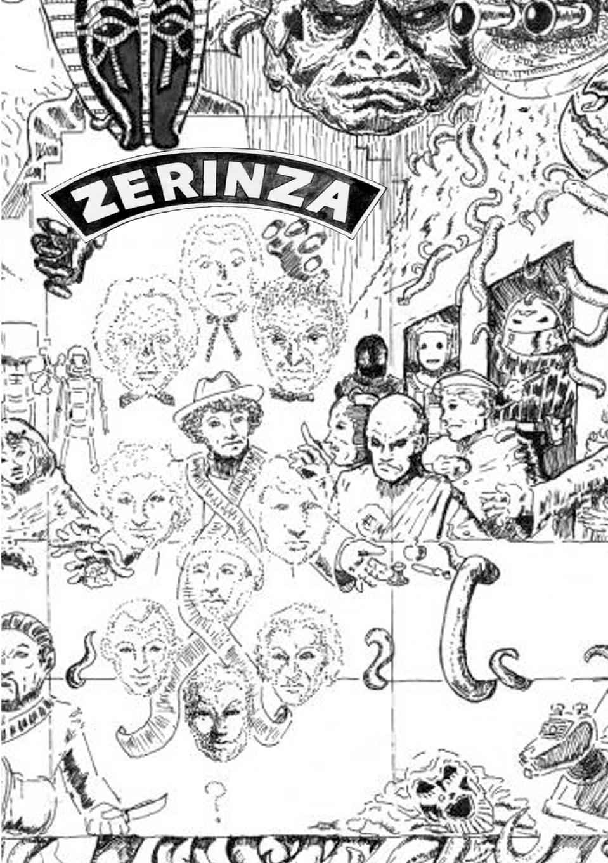 Doctor Who Club of Australia Zerinza Volume One цена