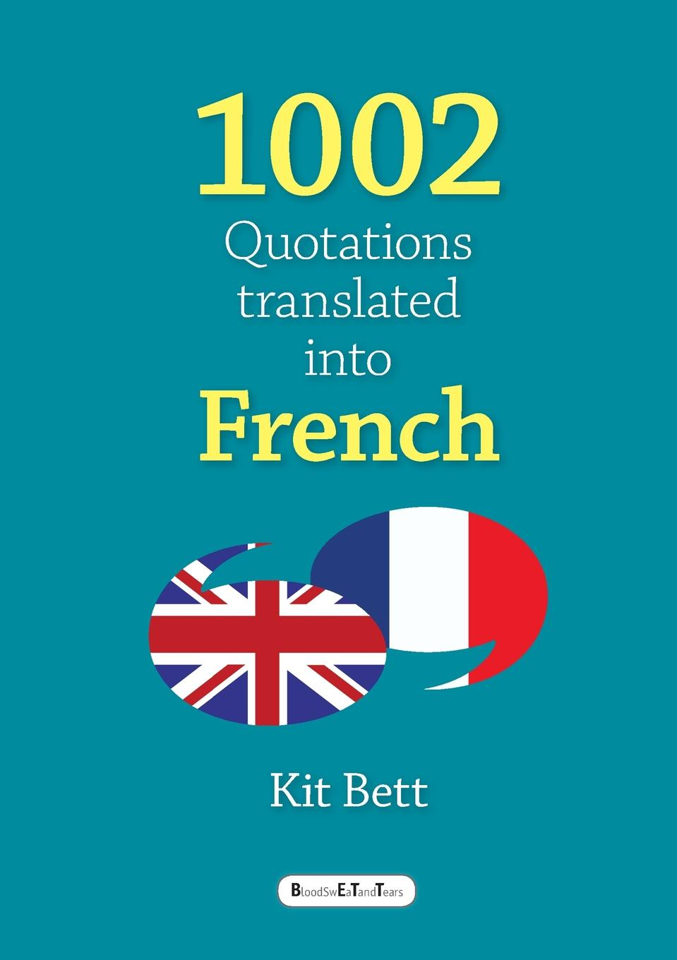 Kit Bett 1002 Quotations translated into French french in one click book with cd