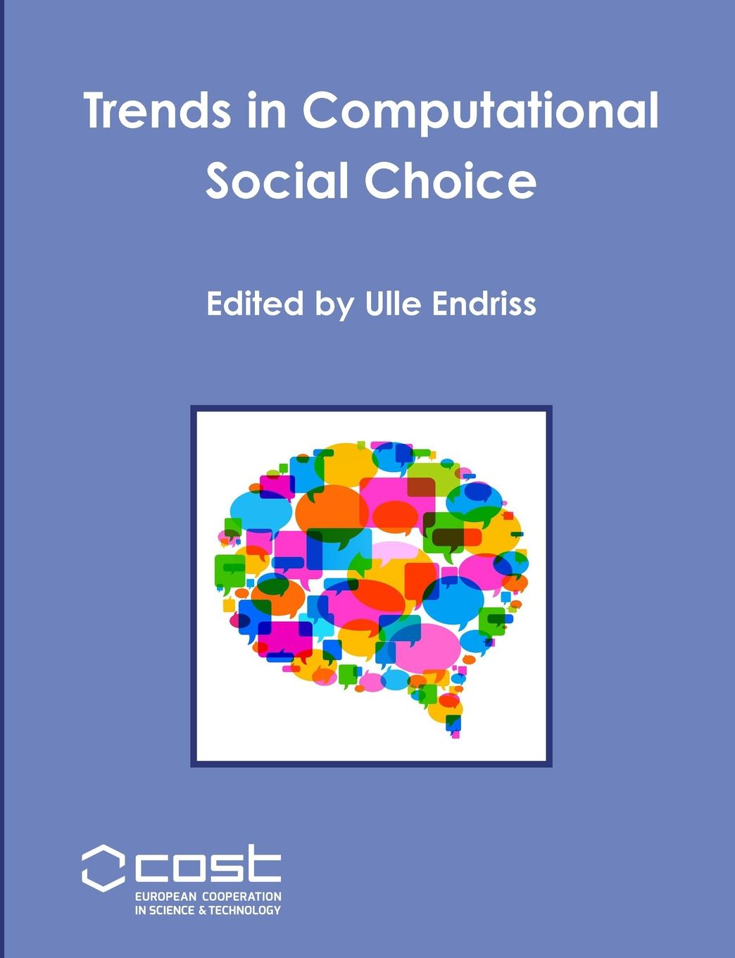 лучшая цена Ulle Endriss Trends in Computational Social Choice