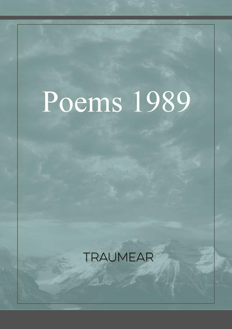 Traumear Poems 1989 все цены