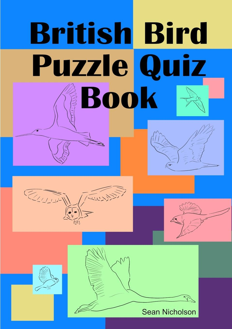 Sean Nicholson British Bird Puzzle Quiz Book lovebook the quiz book for couples