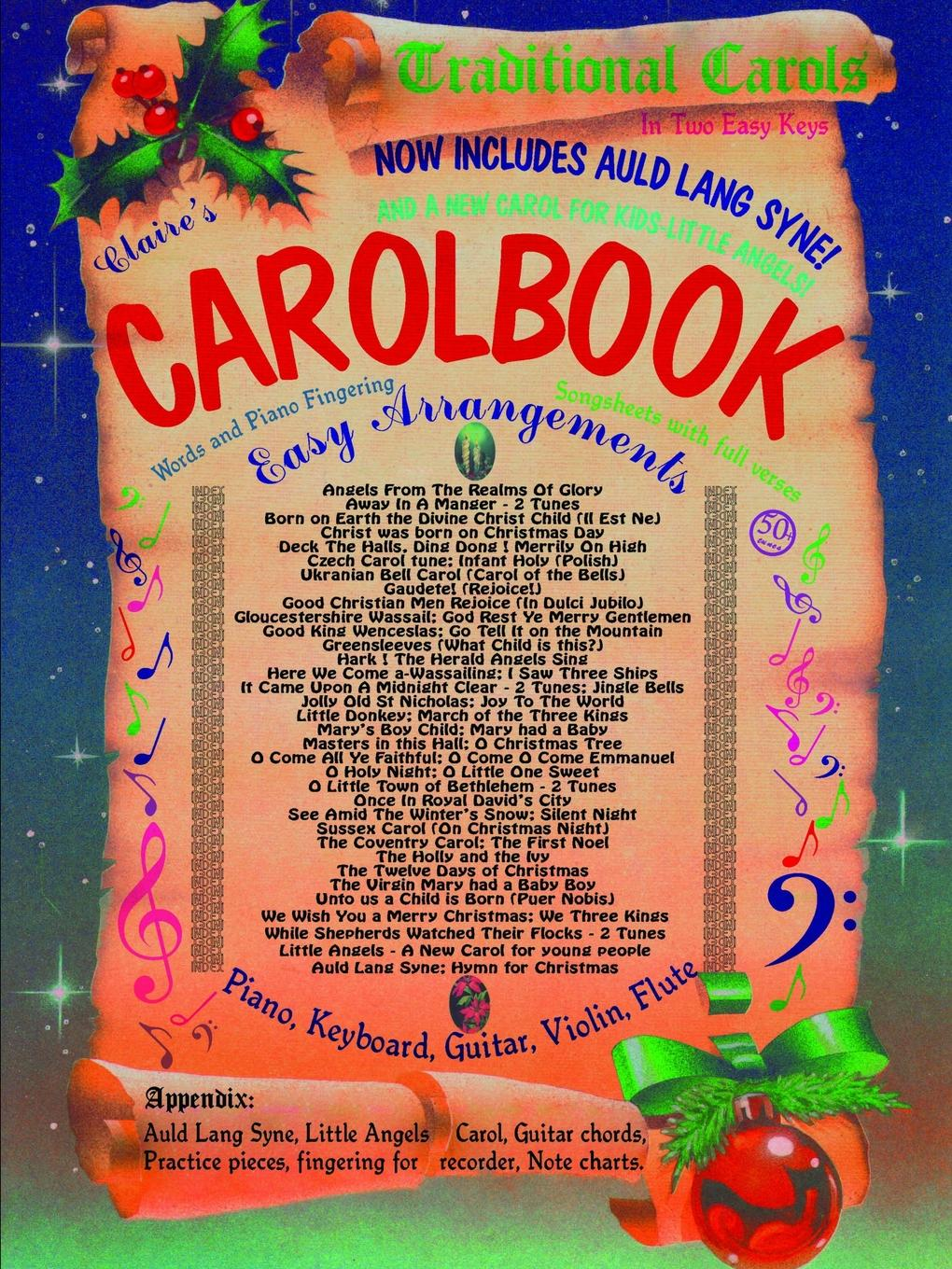 Eros Mungal, Claire Mungal Claire.s Traditional Carolbook facing the modern