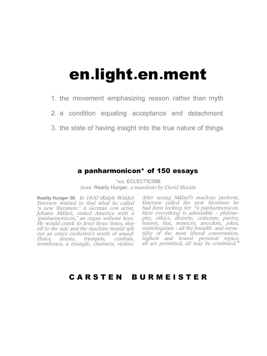 Carsten Burmeister en.light.en.ment bradlaugh charles a few words about the devil and other biographical sketches and essays