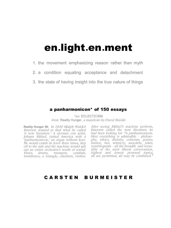 Carsten Burmeister en.light.en.ment representing reality page 8