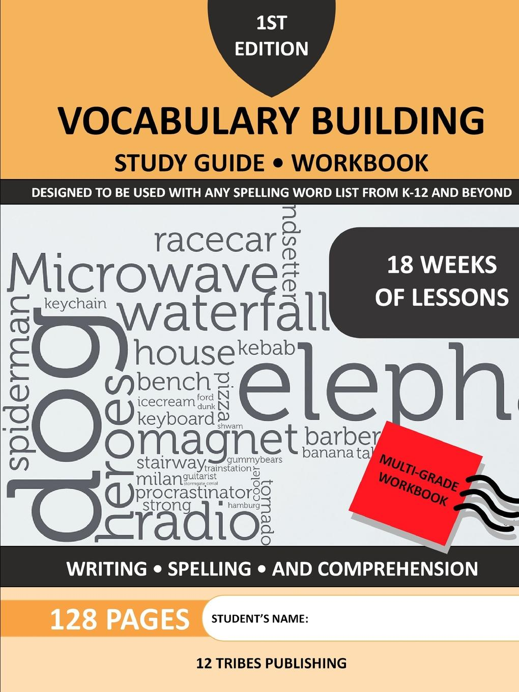 12 Tribes Publishi 12 Tribes Publishing VOCABULARY BUILDING STUDY GUIDE . WORKBOOK new female tribes