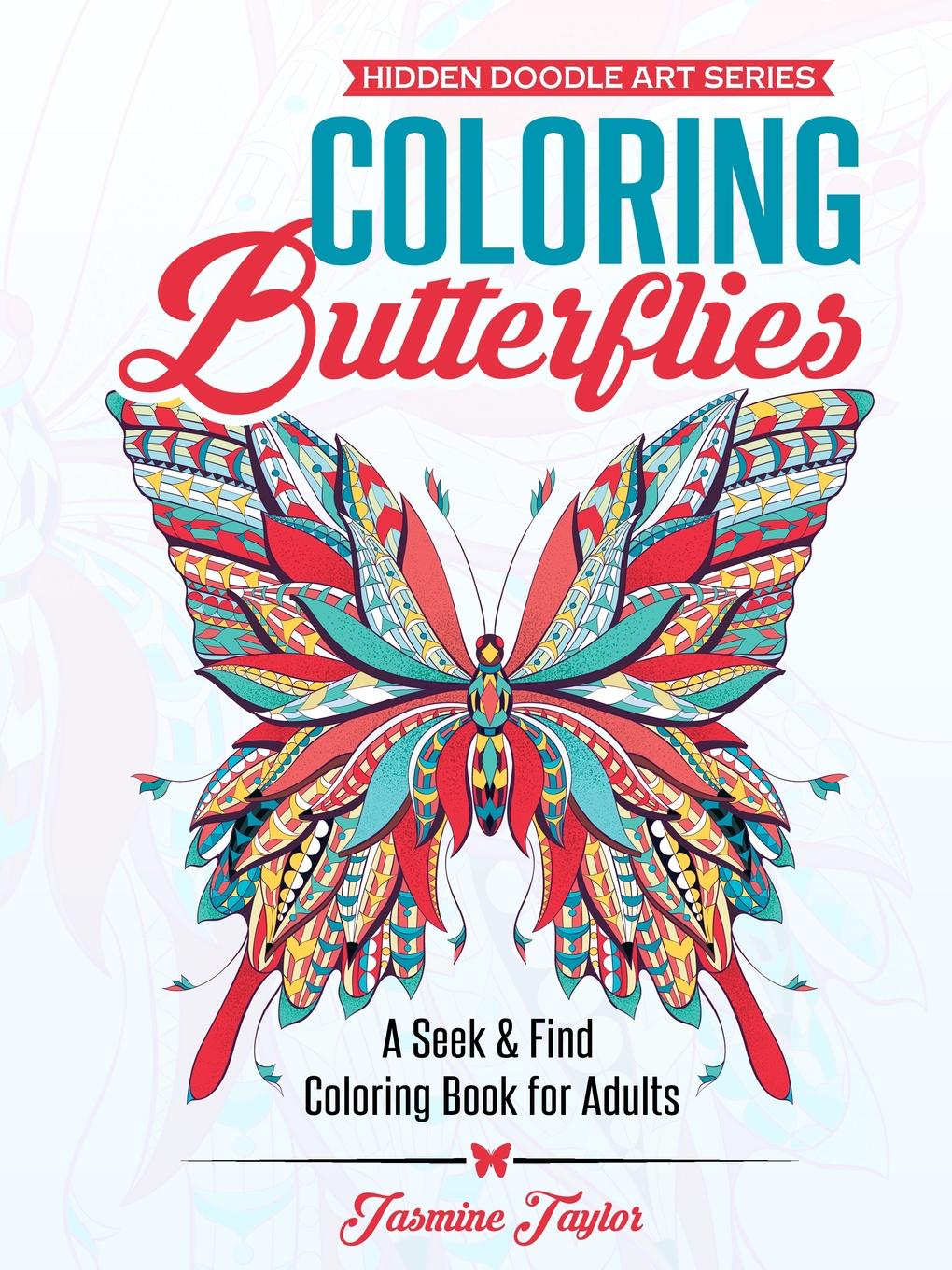 Jasmine Taylor Coloring Butterflies. A Seek . Find Coloring Book for Adults bjarne toft graph edge coloring vizing s theorem and goldberg s conjecture