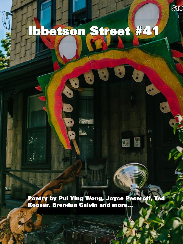 Doug Holder Ibbetson Street .41 doug holder ibbetson street 37