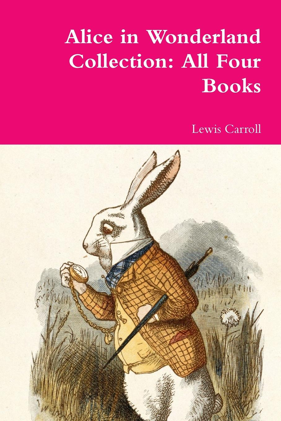 Lewis Carroll Alice in Wonderland Collection. All Four Books read it yourself alice in wonderland level 4