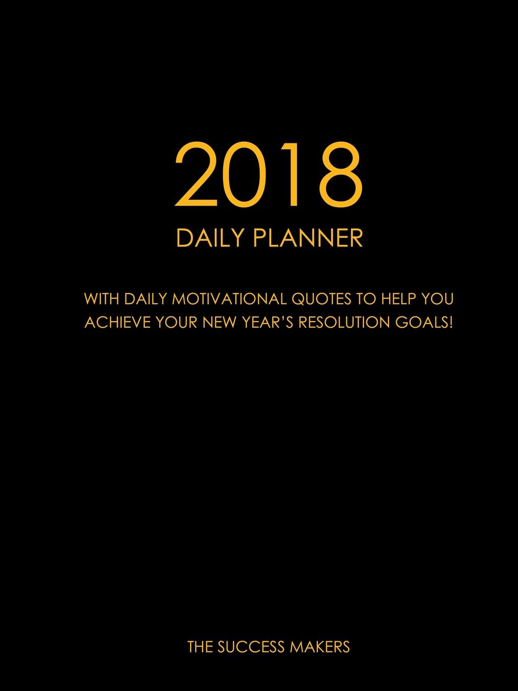The Success Makers 2018 Daily Planner set wonders in the new year s plaid