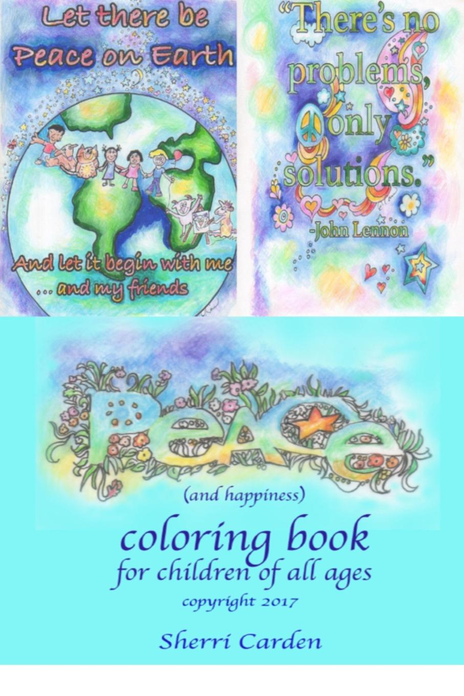 Sherri Carden Peace Coloring Book michael o'neill on yoga the architecture of peace