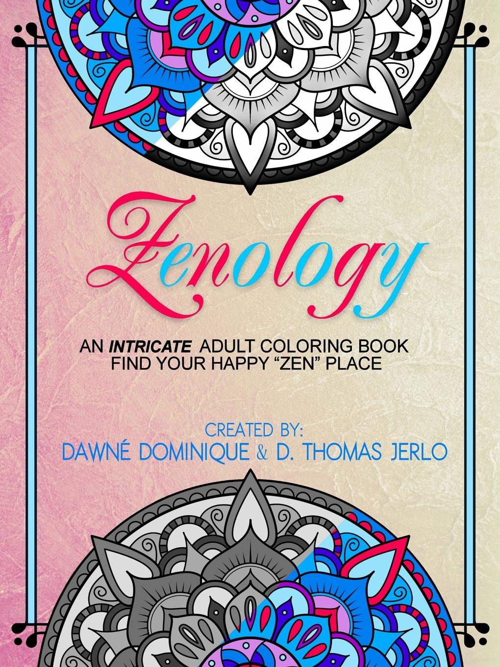 Dawné Dominique, D. Thomas Jerlo Zenology, Adult Coloring Book bjarne toft graph edge coloring vizing s theorem and goldberg s conjecture