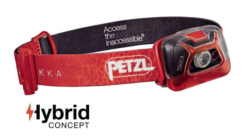Налобный фонарь Petzl TIKKA Red