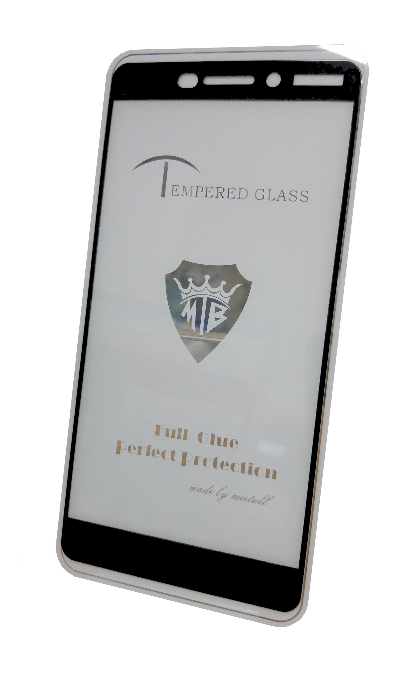 Защитное стекло Nokia 6.1 (2018 г. полная проклейка черная рамка), черный цена и фото