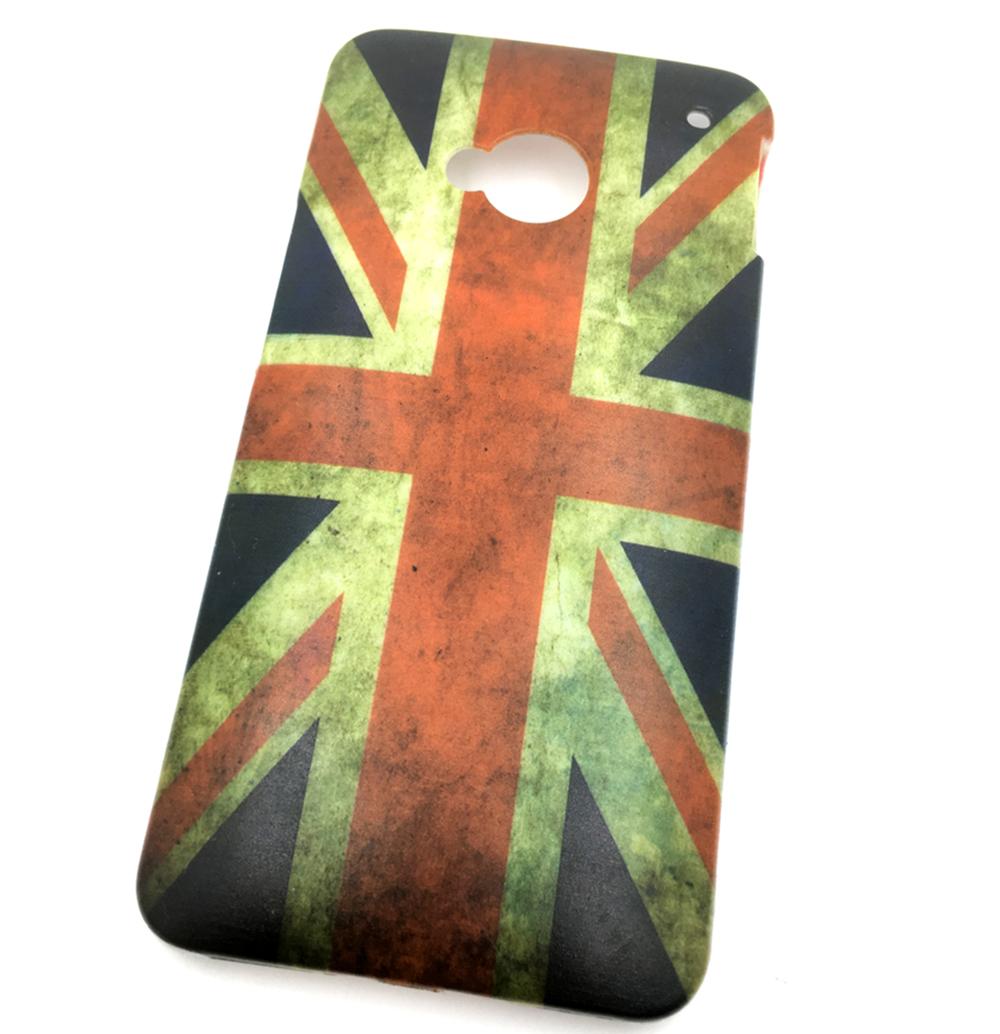 Чехол для сотового телефона Мобильная мода HTC One M7 Накладка пластиковая с рисунком 10pcs lot 100% htc m7 801e for htc one m7 801e