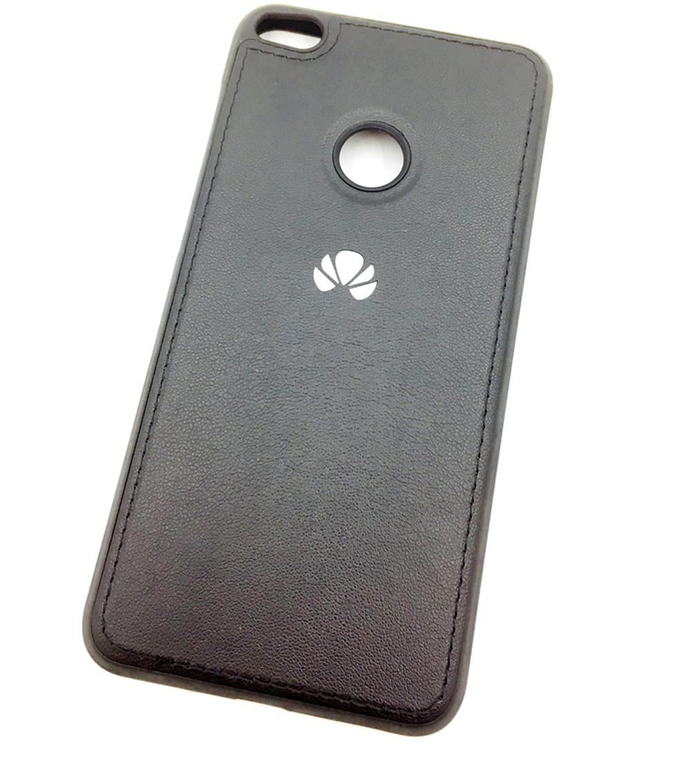 Чехол для сотового телефона Мобильная мода Honor 8 lite 2017 Накладка силиконовая с нашивкой ORIG, черный цены