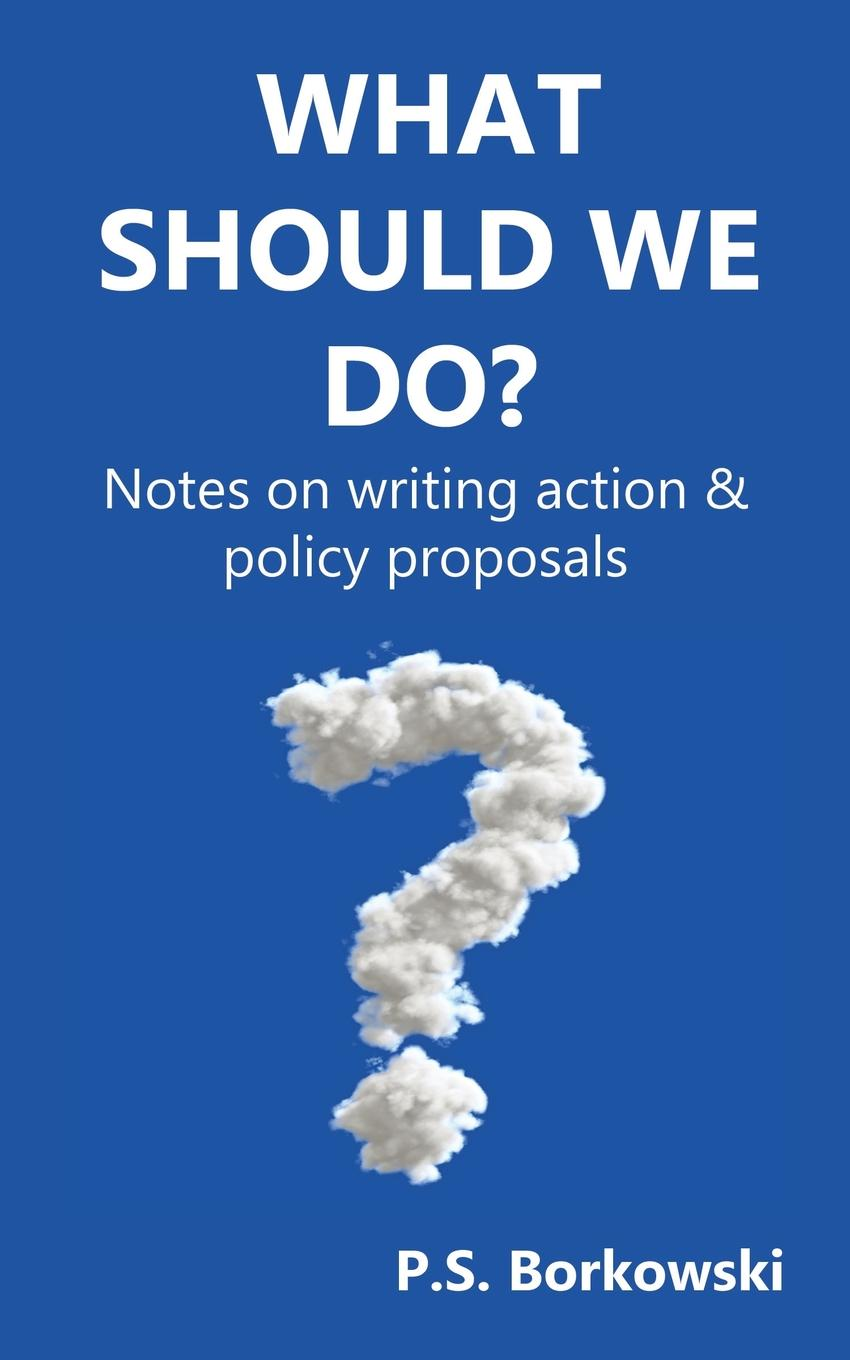 Фото - P.S. Borkowski What Should We Do.. Notes on writing action . policy proposals agent based snort in distributed environment