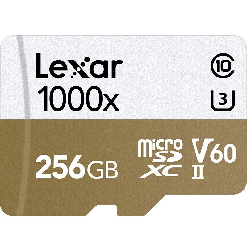 Карта памяти Lexar MicroSD 256GB Class 10 UHS-II 1000х (150 Mb/s) + USB картридер