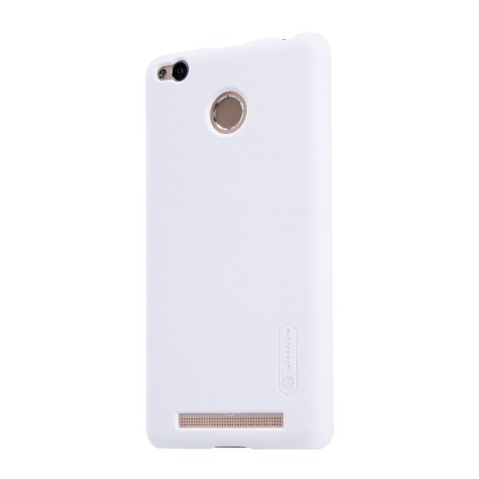 Чехол для сотового телефона Nillkin Super Frosted Shield, белый аксессуар чехол nillkin для meizu m6 note super frosted shield black t n mm6n 002